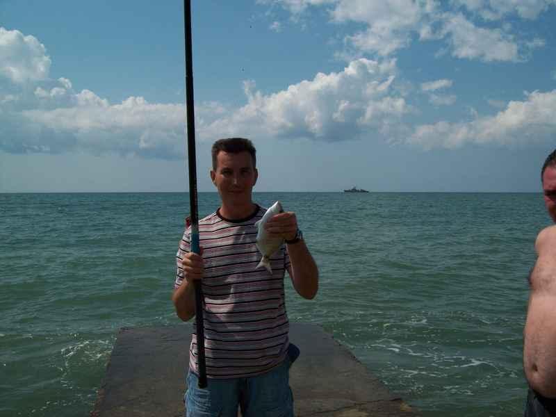 Рыбалка на черном море с берега в болгарии